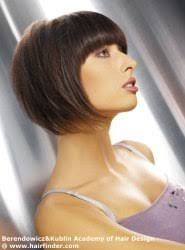 hair finder short bob hairstyles short bob hairstyle with tapering via hairfinder connect emsalon