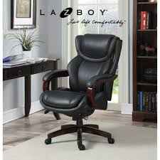 Desk Chair Leather Design Ideas Amazing Lay Z Boy Office Chair 16 With Additional Home Design