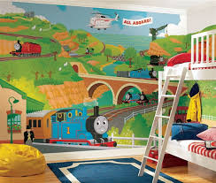 Image Detail For Decorating Trains Wall Murals Kids Bedroom - Mural kids room