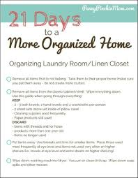 how to organize the laundry room and linen closet