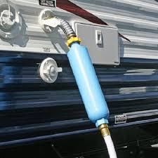 Camper Faucet Rv Water Filter Hose Elbow Trailer Exterior Camco Garden Connector