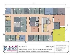 clinic floor plan modular medical building floor plans