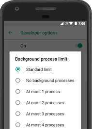 android developer options configure on device developer options android studio