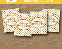 thanksgiving card etsy