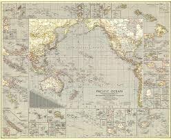 Map Of Pacific Ocean Pacific Ocean Map