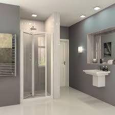 Inward Opening Shower Door High Quality One Install Bi Fold Shower Door Coram