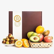 fruit boxes basket of fruit and fruit boxes basket fruit fruit gift box png