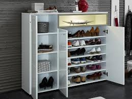 White Shoe Cabinet With Doors by Germania Cadiz Shoe Cabinet High Gloss White Shoe Cabinet