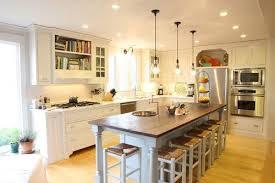 Nickel Pendant Lighting Kitchen Kitchen Island Lighting Brushed Nickel Wooden Shelves Small