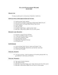 scholarship resume exle scholarship resume objective exles shalomhouse us