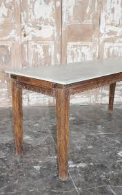 Wooden Dining Table With Marble Top Antique Teak Wood Dining Table With Marble Top Rajasthan Sold