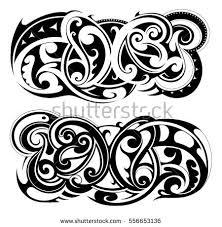 maori tattoo stock images royalty free images u0026 vectors