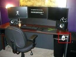 bureau informatique gamer tout le bureau informatique gamer vibox vision 2 pc gamer meuble bureau pc