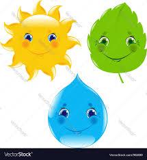weather cartoon royalty free vector image vectorstock