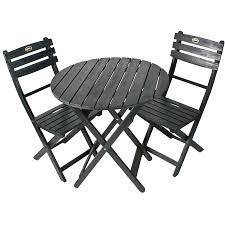 shop 3 piece slat seat wood patio bistro set at lowes com