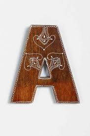 magical thinking henna letter urban catalog and sorority