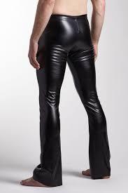 Real Leather Leggings Men U0027s Vinyl Pants Custom Burning Man Sinister Costume