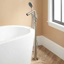 Wrought Iron Bathroom Faucet Keta Roman Tub Faucet With Hand Shower Bathroom