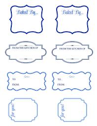 free printable baking gift tags