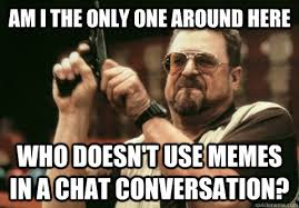 Pictures To Use For Memes - am i the only one around here who doesn t use memes in a chat