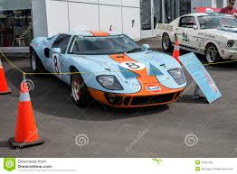 gulf gt40 ford gt40 editorial photography image 42081992