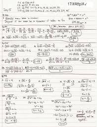 alg1 ch11 hw answers