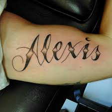 130 amazing name tattoos designs and ideas april 2018