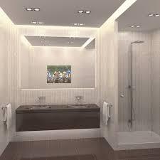 bathroom tv waterproof lcd mirror television ip67 for sauna
