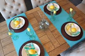 How To Set A Table Set The Table Easter Brunch Life In Yellow