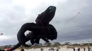 toothless dragon enormous beach kite