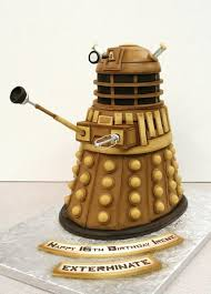 doctor who themed cakes