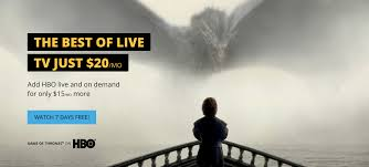 Sling Tv Logo Png Sling Tv Offering 7 Day Free Trial To Watch Game Of Thrones And