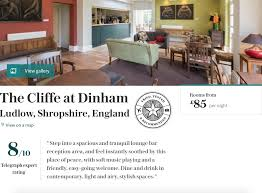 The Sitting Room Ludlow - the cliffe at dinham restaurant with rooms home ludlow menu