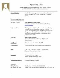 Student Resume Format High Students With No Experience Template Student
