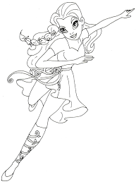 poison ivy coloring page eson me