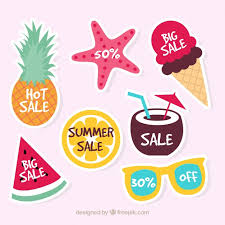 summer sale summer sale logo collection vector free