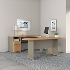 Small Corner Desk Au Amazon Com Series A U Shaped Corner Desk With Peninsula And