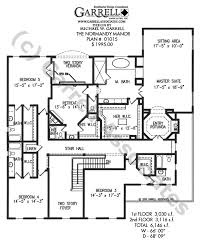 colonial revival house plans normandy manor house plan house plans by garrell associates inc