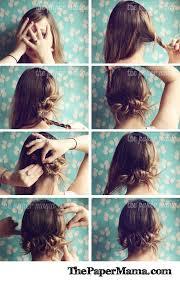 prom updo instructions 15 easy hair tutorials for hair bun alternatives clever tutorials