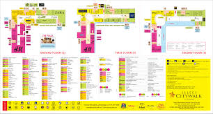 Shopping Centre Floor Plan by Select City Walk Floor Location