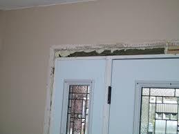 Replace Exterior Door Frame Front Doors Replace A Front Door Replace Exterior Door Threshold