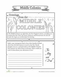13 colonies activity worksheets student interactive notebook
