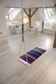 Interior Swing Chair Fun Homes That Feature Indoor Swings And Stay Casual