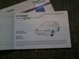 manual do proprietário hyundai accent 95 96 97 r 70 00 em