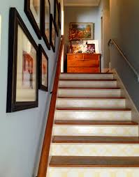 how to wallpaper stair risers barnaclebutt