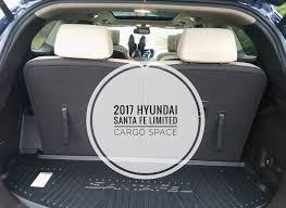 cargo space in hyundai santa fe review 2017 hyundai santa fe limited chicken nuggets of wisdom