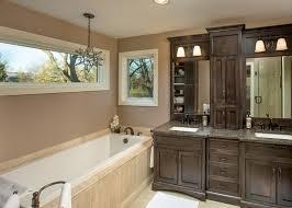 espresso cabinets look columbus traditional bathroom image ideas