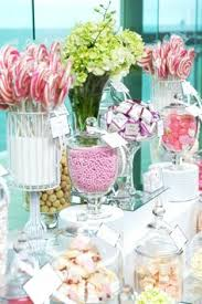 Pink And White Candy Buffet by Pink And White Candy Buffet Too Cute With The Outdoor Setting