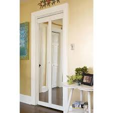 Mirror Bifold Closet Door Awc 907 Traditional Mirror Bifold Door Walmart