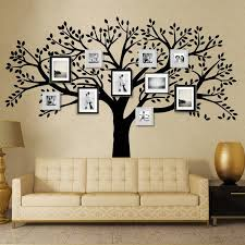 living room wall stickers buy mctum brand family tree wall decals vinyl wall decal photo